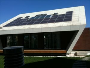 Istanbul is also home to some of the most modern architecture such as this solar powered beauty.